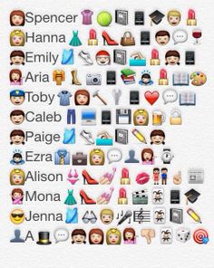 Pretty Little Liars Emoji