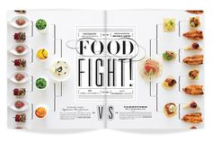 ★ DESIGN ARMY – Washingtonian Bride & Groom: FOOD FIGHT (Editorial Design and Art Direction) © Design Army LLC