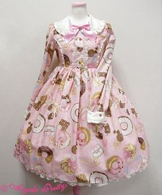 Angelic Pretty Baked Sweets Paradeワンピース