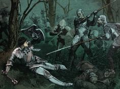 12 surprising facts about the Wars of the Roses: Battle of Barnet, 1471 - the death of Richard Neville, 16th earl of Warwick. (Photo by Culture Club/Getty Images)