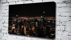 Night Lights Nyc  city canvas from only £14.99 at Canvas Art Print http://www.canvasartprint.co.uk/products/NIGHT-LIGHTS-NYC--438745.aspx