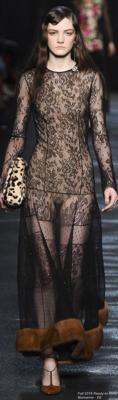Fall 2016 Ready-to-Wear Blumarine