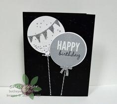 Lucky Stars EF    Silver Glimmer Paper Smoky Slate ink  Memento ink Basic Gray Baker's Twine