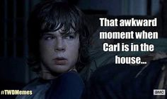 Walking Dead Where's Carl Meme | ... Episode 9 of AMC's The Walking dead is all about Carl (Chandler Riggs