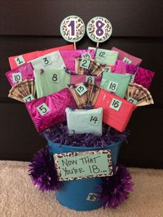 30 Awesome Image of Scrapbook Gift Basket . Scrapbook Gift Basket Birthday … 30 Awesome Image of Scrapbook Gift Basket . Scrapbook Gift Basket Birthday Gift Basket On The Back Of Each Numbered Gift There Cute Birthday Gift, Birthday Gift Baskets, Birthday Diy, Birthday Woman, Christmas Birthday, Diy Christmas, 21st Birthday Basket, Outdoor Christmas, Handmade Christmas