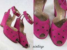 1940's Platform Shoes