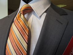 David Eisele's V Series Suit, Forsyth Shirt, Zanetti Tie