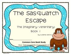 The Sasquatch Escape - book study Reading Activities, Teaching Reading, Book Club Books, The Book, Book 1, Best Books To Read, Good Books, Teacher Helper, Book Study