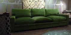 Caravane - fantastisk grønn sofa