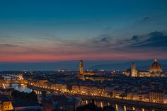 Piazzale Michelangelo / Florence, Italy