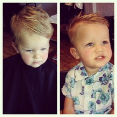 Before and after haircut. Toddler boy hairstyle. Toddler hairstyle. Haircut. Cute boy