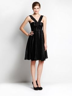 Cocktail Dress John Galliano black jacquard organza   http://www.goldenbrands.gr/public/product/dresses-galliano-azzaro-blumarine-sophiakokosalaki/5021800034