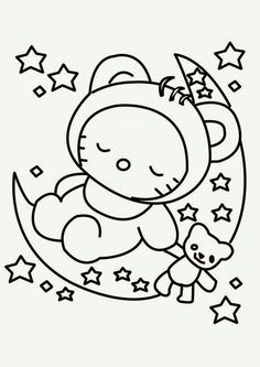 hello kitty coloring pages printable and coloring book to print for free find more coloring pages online for kids and adults of hello kitty coloring pages
