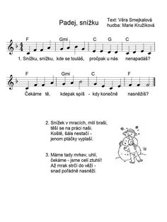 Kids Songs, Advent, Sheet Music, Poems, Education, School, Tulips, Children Songs, Songs For Children