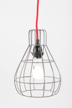 It's all about mixing in the old, new, familiar and uncommon goods that make our family's design style work.  Urban has a nice mx of affordable but different lighting options that once combined will make our new home pop with light and style.  Cage Pendant Lamp