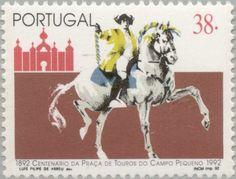 Stamp: Arena stierenvechten (Portugal) (Arena stierenvechten) Mi:PT 1941,Sn:PT…