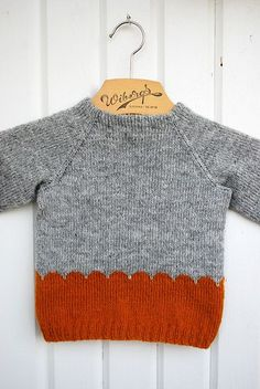 Ravelry: Maria Carlanders Cloud Kid with chart for scallops- free sweater pattern