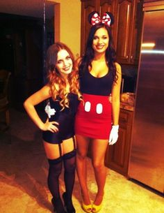 Minnie and vampire - The American Apparel Halloween Contest 2012