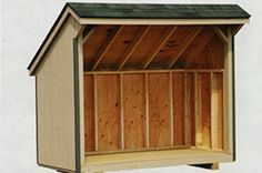 Sheds and lean to 39 s on pinterest lean to shed shed Lean to dog house plans