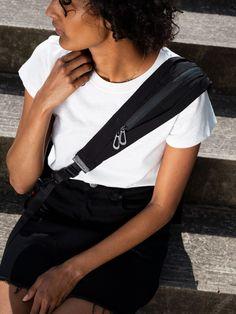 Adda Smooth Black – côte&ciel US Black Crossbody, Crossbody Bag, World Of Fashion, New Product, Carry On, Shoulder Strap, Smooth, Stylish, Casual