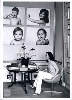 Crown Princess Mary of Denmark has pictures of her four kids on...