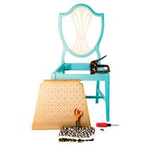 How to make over your old chairs