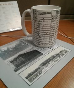 A great genealogy gift idea: order a coffee mug with a census image of your ancestors! From Diane Haddad on the Family Tree Magazine blog!