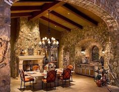 Grande Cielo (Big Sky Italian Style) High, wide and handsomeBig Sky County is the setting for an old world Tuscan style/ Hacienda corporate compound. Architectural form and interior motif echo...
