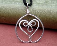 how to make the mother / daughter celtic knot wire jewelry - Google Search