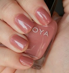 A good neutral pink. (Zoya Addison)