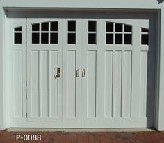 Designer Doors :: Custom Garage Doors with Matching Walk-Thru Doors