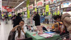 Auchan napi arcfestés és csillámtetoválás
