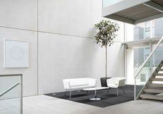 Lola table #Allermuir #OfficeDesign  www.benharoffice.com/ #office #interiordesign #furniture