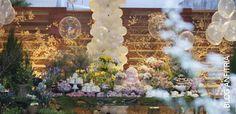 Festa com tema Jardim Colorido para Theodora - Mar.2015