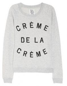 Creme de la creme sweater by Zoe Karssen.