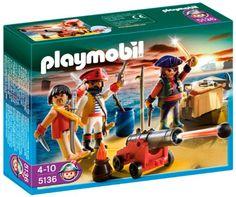 Playmobil – 5136 – Jeu de construction – Equipage de pirates avec armes | Your #1 Source for Toys and Games