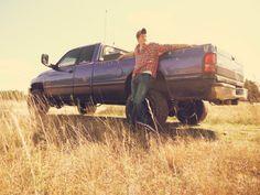senior boy portrait with truck - Google Search
