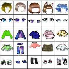 Discover the coolest Mah anoter bingo 😅 images Manga Clothes, Drawing Anime Clothes, Anime Girl Drawings, Kawaii Drawings, Cute Drawings, Clothing Sketches, Cute Anime Chibi, Fashion Design Drawings, Anime Eyes