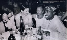 Madonna, Sting, and Tupac: | The 45 Most Legendary Pictures Ever Taken