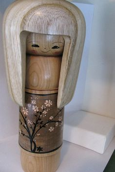 Kokeshi+doll+by+NaomiGallery+on+Etsy,+$165.00