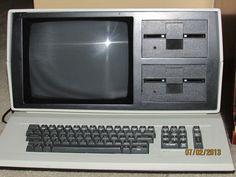 Vintage Audio Visual Labs Computer 1980's 1982 with Display