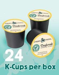 Caribou Coffee  DAYBREAK MORNING BLEND  CARIBOU BLEND  Variety Pack 48 KCups for Keurig Brewers * For more information, visit image link.