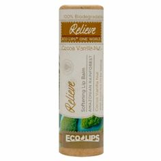 Buy Eco Lips Relieve Soothing Organic Lip Balm, Cocoa Vanilla Nut with free shipping on orders over $35, low prices & product reviews | drugstore.com