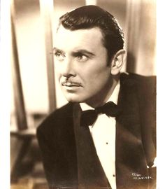 Image detail for -George Brent -- Actor with Barrymore Style Hollywood Actor, Hollywood Stars, Classic Hollywood, Old Hollywood, Turner Classic Movies, Classic Movie Stars, Classic Films, George Brent, Guys And Dolls