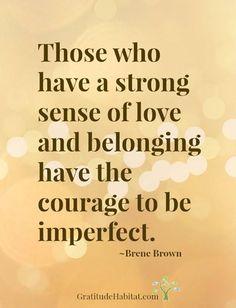 Imperfect is Unique.