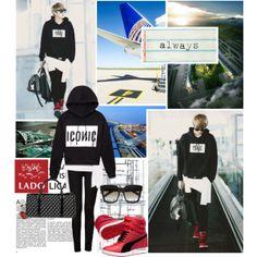 """""""Kriscasso"""" by muzikgurl on Polyvore. kpop korean airport fashion. exo's kris. #style #fashion"""