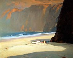 Alfred Mitchell. In morning light. California impressionist