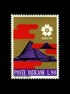 From designer Iain Follett's stamp collection, as featured on grain edit.