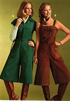 J.C. Penney, 1977  I DID NOT sport this look, but my sister did... 70s Women Fashion, 60s And 70s Fashion, Seventies Fashion, Fashion History, Timeless Fashion, Retro Fashion, 70s Outfits, Vintage Outfits, Hippie Look