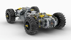 Lego Technic Truck, Lego Truck, Lego Car, Lego Design, Lego Machines, Rc Autos, Lego Mechs, Lego Models, Cool Lego